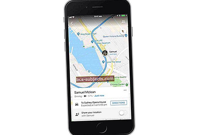 كيفية مشاركة الموقع و ETA من خرائط Google على جهاز iPhone الخاص بك