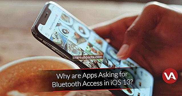 Proč aplikace žádají o použití Bluetooth v iOS 13 a iPadOS?