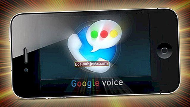 Google Voice'i kasutamine iPhone'i kõneposti jaoks