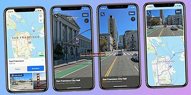 كيفية استخدام خرائط Apple الجديدة في iOS 11