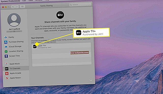 Como configurar o Compartilhamento Familiar em seu Mac e Apple TV