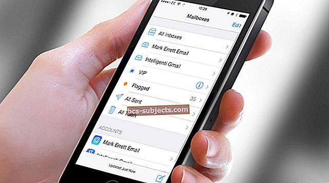 Jak nastavit iCloud Mail, kontakty, kalendáře a další na iPhonu a iPadu