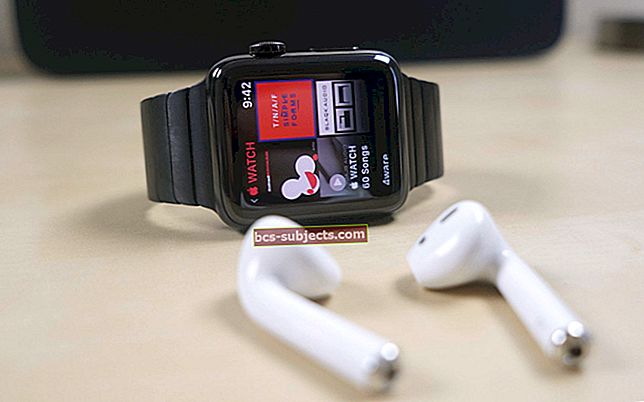 Jak přehrávat hudbu na Apple Watch
