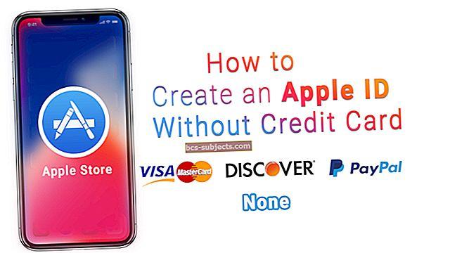 Kuidas luua krediitkaardita Apple ID?