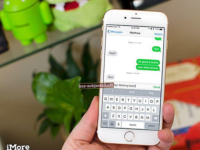 iPhone 6 Nelze odesílat fotografie v iMessage, How-To
