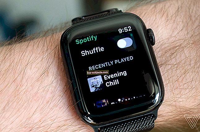 Jak používat aplikaci Spotify na Apple Watch