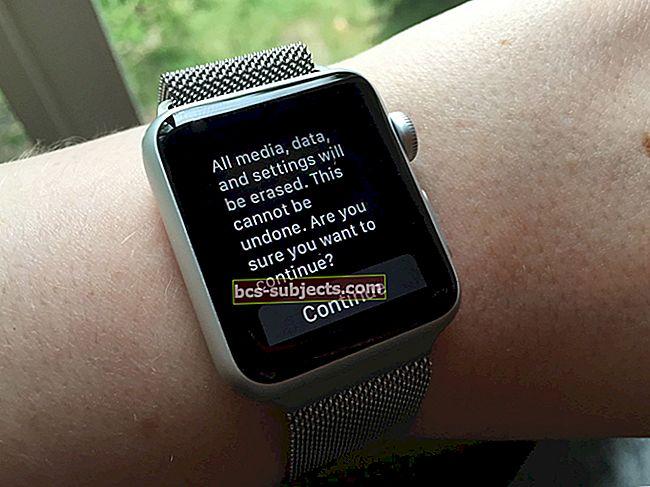 كيفية إلغاء إقران Apple Watch والاستعادة من النسخ الاحتياطي