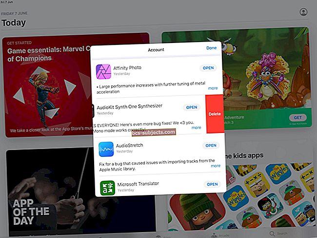 Kus on iOS 13 ja iPadOS-i vahekaart App Store'i värskendus