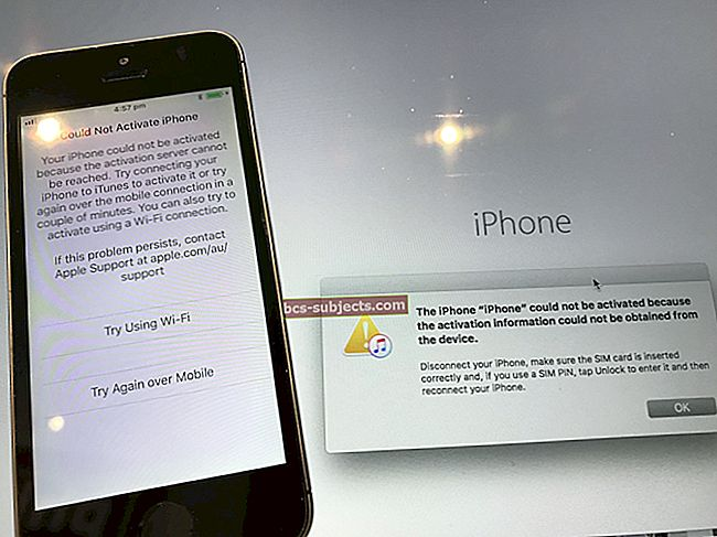 """Kuidas saada viga """"Ei saa aktiveerida"""" iPadis, iPhone'is? Mõned kiirparandused"""