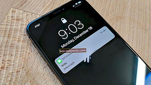 Sõnumite ja iMessage'i probleemide lahendamine iOS 11-s