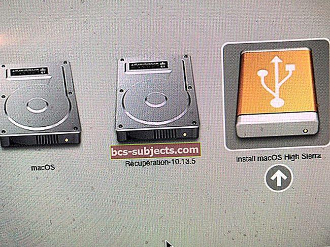 Kā pazemināt versiju no macOS Mojave uz macOS High Sierra