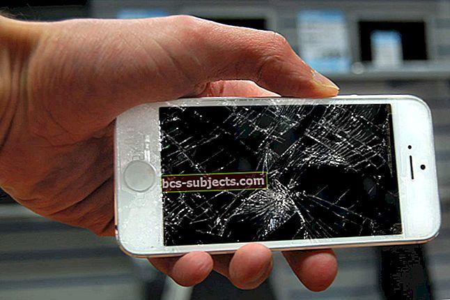 Ko darīt ar salauztu iPhone ekrānu?
