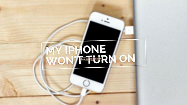 iPhone 5 não liga, conserta