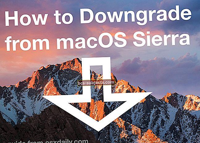 Jak přejít z macOS Sierra na El Capitan