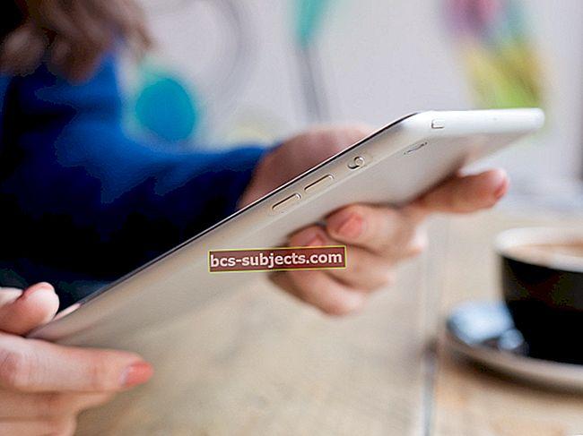 Poštovní účty pro iPhone nebo iPad nelze smazat (iOS), opravit