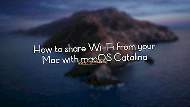 Pošta nefunguje v macOS Catalina, jak na to