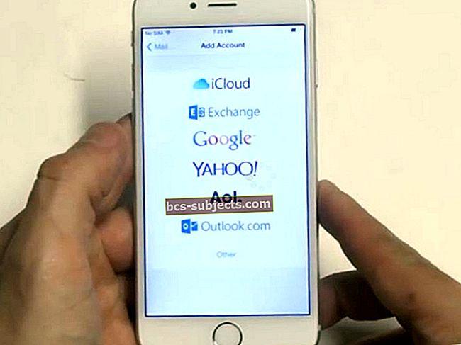 لا يمكنك تحديث أو تغيير كلمة مرور البريد الإلكتروني على iPhone أو iPad؟