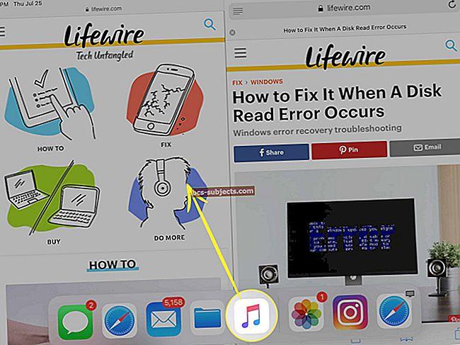 Cách sử dụng Dock iPad của bạn trong iOS 11 trở lên
