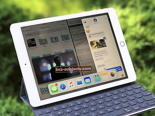 كيفية استخدام طريقة العرض المنقسمة والصورة في صورة على جهاز iPad
