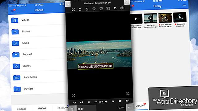 كيفية تشغيل مقاطع فيديو WMV على iPad و iPhone