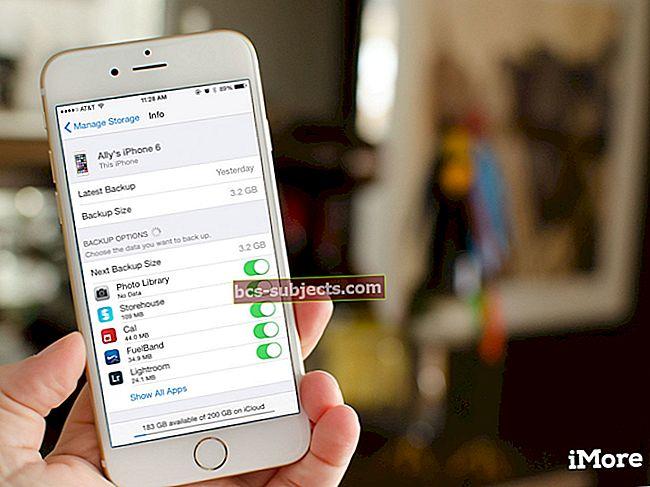Varundage iPhone'i fotod iCloudi fototeegi abil